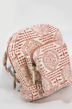 Load image into Gallery viewer, Moroccan Flower Backpack