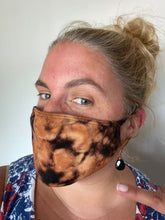 Load image into Gallery viewer, Tie Dyed Adult Face Mask