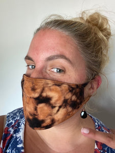 Tie Dyed Adult Face Mask