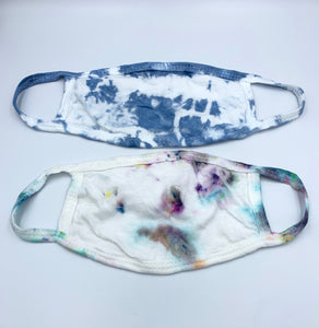 Tie Dyed Kids Face Mask
