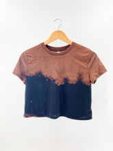Load image into Gallery viewer, Reverse Dip Dyed Crop Tee