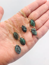 Load image into Gallery viewer, Limited Edition Emerald Necklace