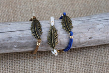 Load image into Gallery viewer, Feather Suede Bracelet
