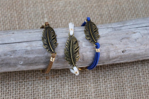 Feather Suede Bracelet