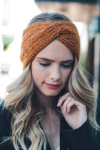 Twist Braid Knit Crochet Headband