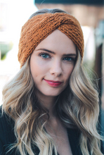 Load image into Gallery viewer, Twist Braid Knit Crochet Headband