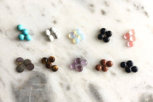 Load image into Gallery viewer, Gemstone Stud Earrings
