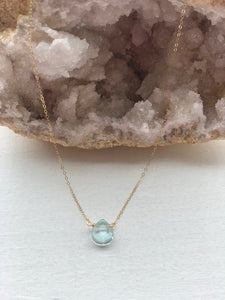 Simple Stone Necklace