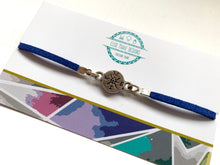 Load image into Gallery viewer, Compass Suede Bracelet