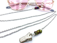 Load image into Gallery viewer, Eye Glass Chain with Crystals