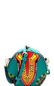 Ethnic Tribal Print Shoulder Bag