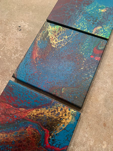 Acrylic Pour Paintings