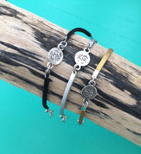 Load image into Gallery viewer, Om Suede Bracelet