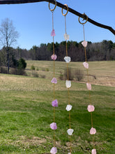 Load image into Gallery viewer, Quartz Crystal Garland Home Decor