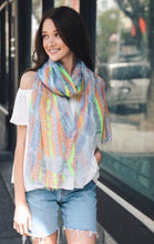 Load image into Gallery viewer, Tribal Multicolor Scarf