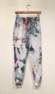 Ice Dyed Multi-Colored Sweatpants