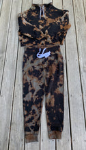 Load image into Gallery viewer, Reverse tie dye sweatsuit