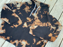 Load image into Gallery viewer, Reverse tie dye cowl neck sweatshirt