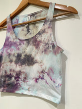 Load image into Gallery viewer, Ice Dyed Multi-Colored Crop Tank