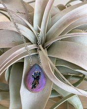 Load image into Gallery viewer, Large Druzy Drop Necklace
