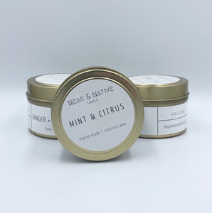 Near & Native Travel Candles
