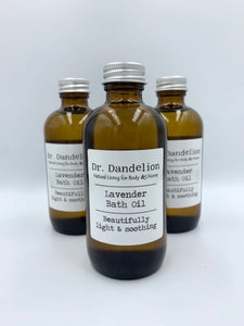 Lavender Bath Oil