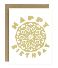 Load image into Gallery viewer, Happy Birthday Mandala Greeting Card