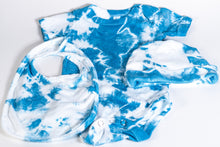 Load image into Gallery viewer, Shibori Indigo Dyed Baby Onesie