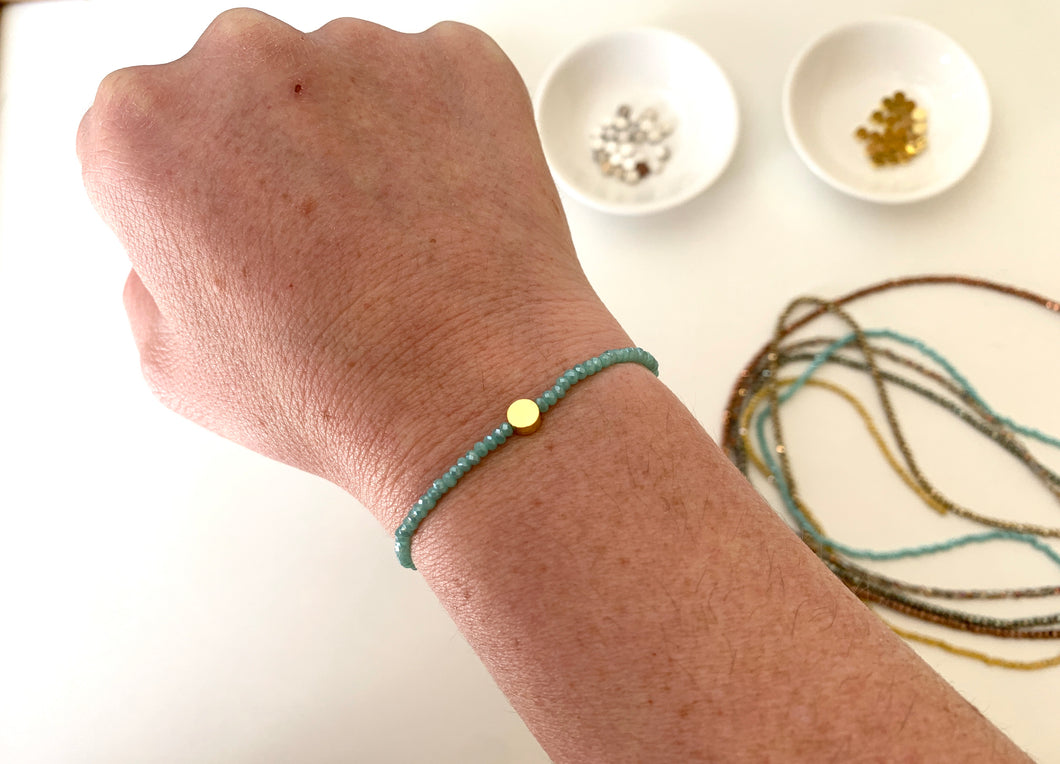 Build your own stretch bead bracelet