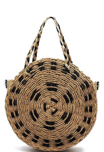 Large Boho Straw Bag