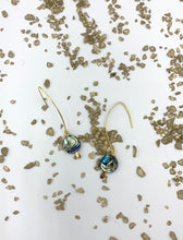Load image into Gallery viewer, Abalone Drop Earrings