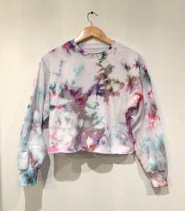 Ice Dyed Multi-Colored Sweatshirt