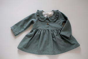 Madison Dress in Aegean Teal