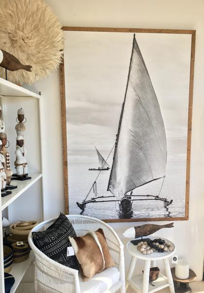 Sailing Dhows - Stretched Canvas Framed 187 x 127