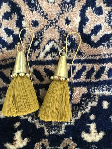 Hamimi | Cumin Tassel Cone | Earrings