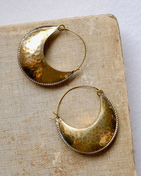 Hamimi | Kamah Crescent Hoop Earrings