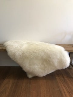Hides of Excellence | White Merino Sheepskin