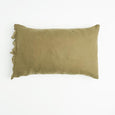 Society of Wanderers | Ruffle Pillowcase Set | Olive