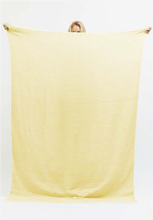 Sandtrack Queen Size Travel Towel in Lemon