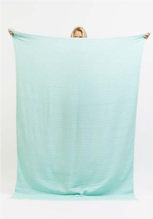 Sandtrack Queen Size Travel Towel in Seafoam