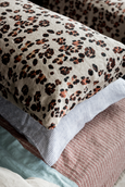 Society of Wanderers | Leopard Print Standard Pillowcases | Set of 2