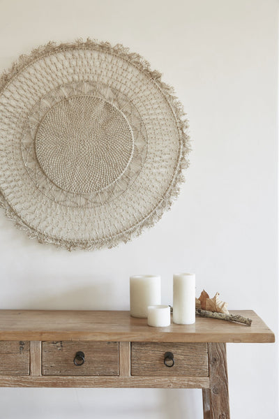 Woven Mandala Wall Hanging - PRE ORDER August arrival