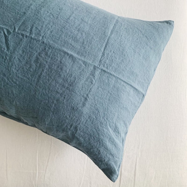 Linen Pillow Case Set | Storm
