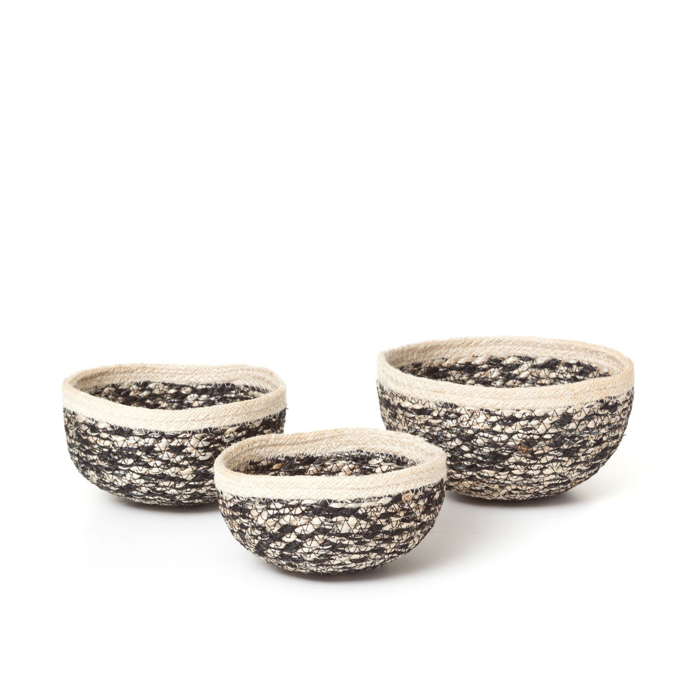 Jute Bowls Set of 3