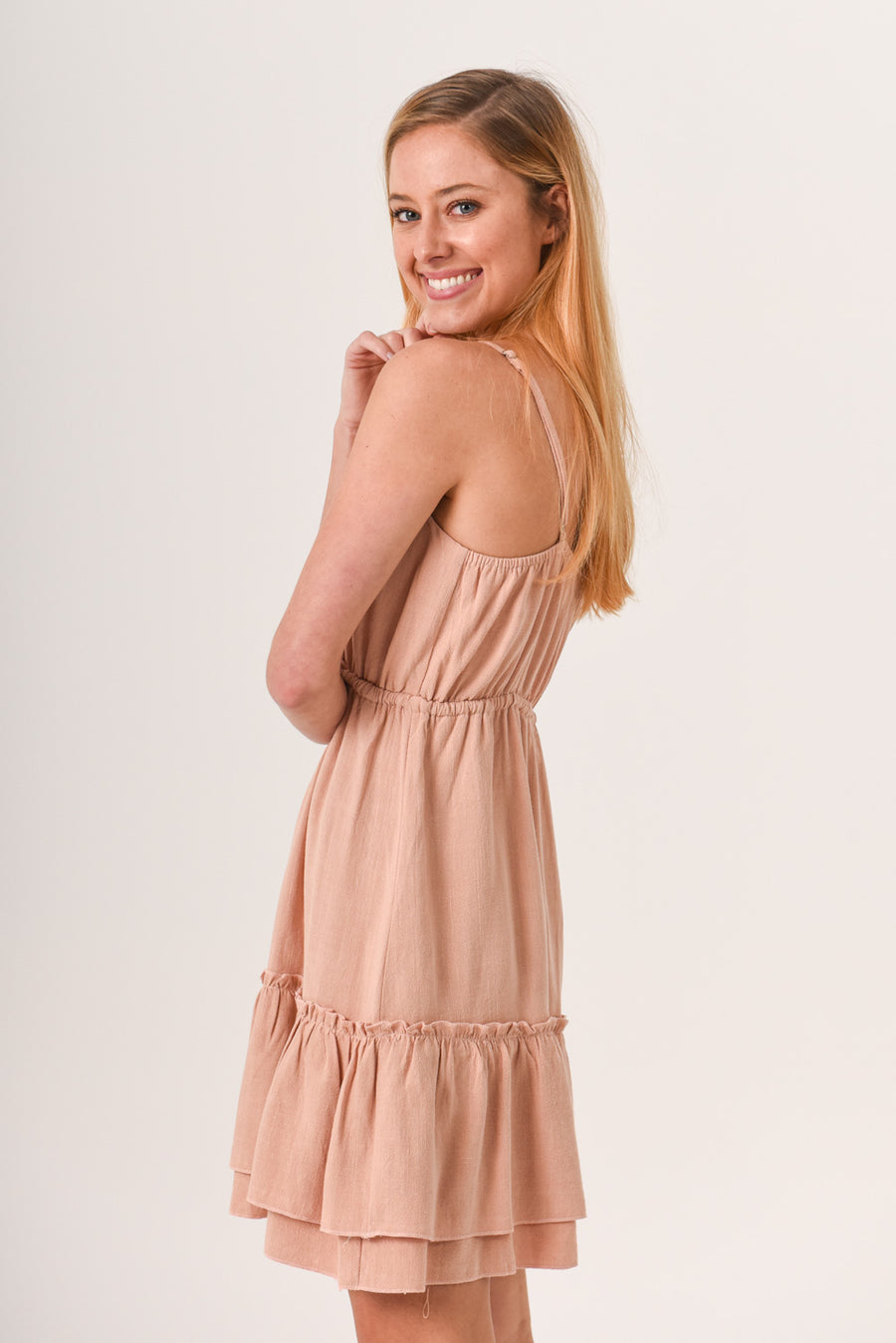 Sally Dress - Blush