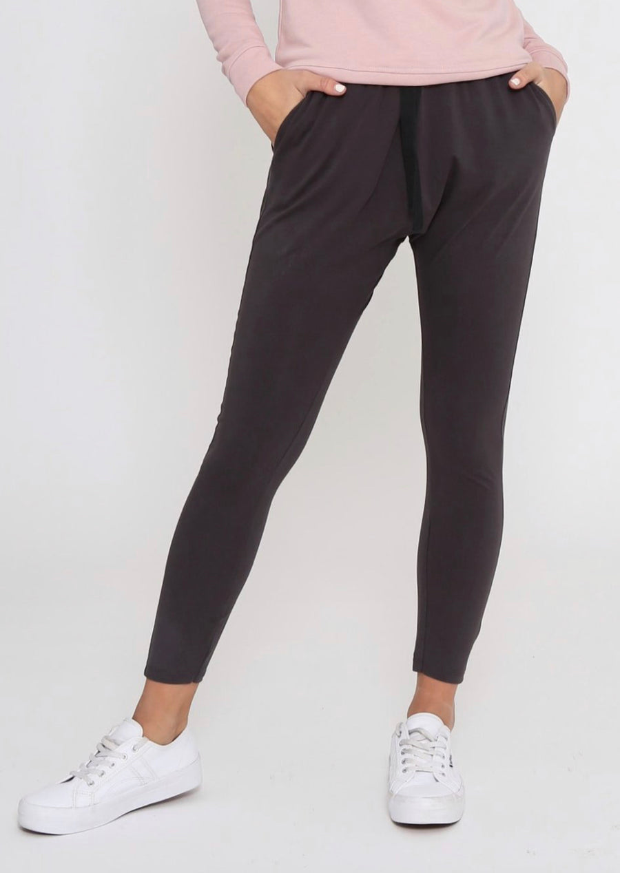 Nadia Pants - Dark Grey