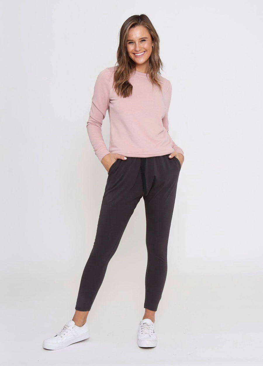 Nadia Loung Pants - Dark Grey