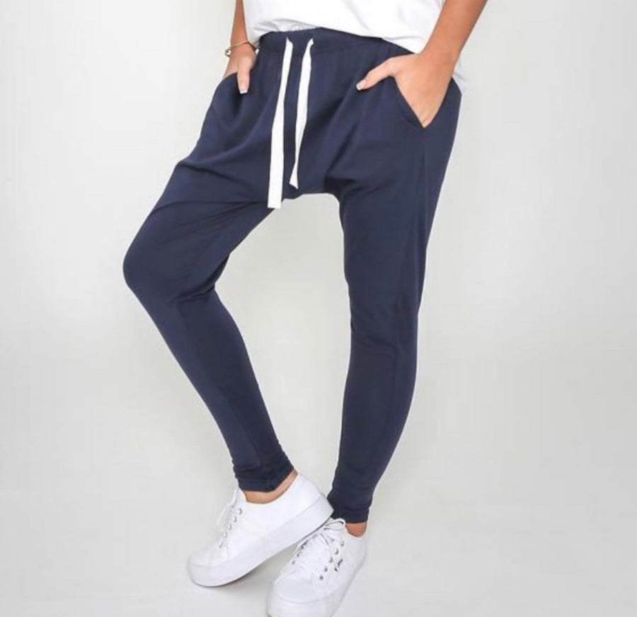 Nadia Lounge Pants - Navy