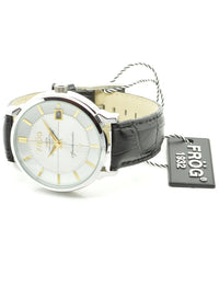 GEMINI White 43 mm Leather Watch
