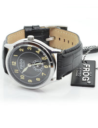 COSMOS Black 41 mm Leather Watch